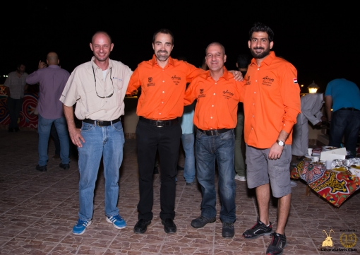 The Legendary ghoroud-devil and Landcruiser-expert Peter Gaballah and the super performing Rahhala Rally team led by Hany Omar and famous co-pilot Hany Madbouly and Chief Engineer Osama Hamdy